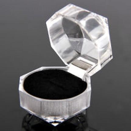 Подарочный футляр для украшений (серьги, кольцо)