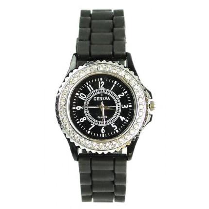 Часы женские GENEVA Luxury Женева Черные