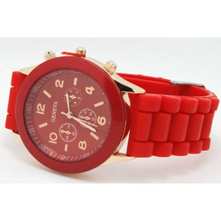 Часы наручные женские GENEVA Красные