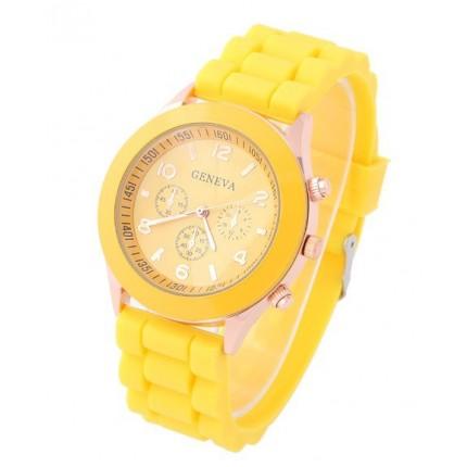 Часы наручные женские GENEVA Желтые