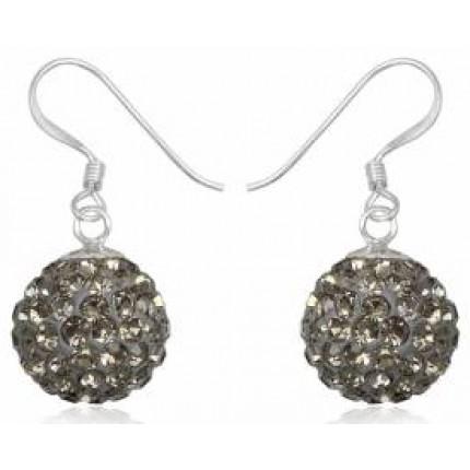 Серьги TN734. Серебро 925. Swarovski Crystals