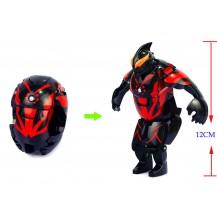 Супер Герой Трансформер Ultraman (черный)
