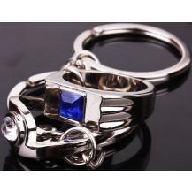Парные брелки для влюбленных - Мужской и женский перстень