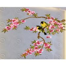 Интерьерная наклейка Цветущая Ветвь