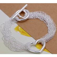 Браслет Tiffany (TF4). Покрытие серебром 925