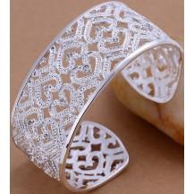 Браслет Tiffany (TF-B166). Покрытие серебром 925