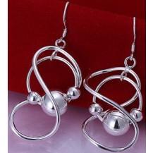 Серьги Tiffany (TF8). Покрытие серебром 925