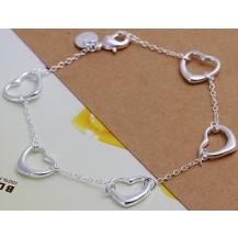 Браслет Tiffany (TF15). Покрытие серебром 925