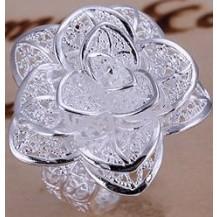Кольцо Tiffany Все размеры (TF22). Покрытие серебром 925