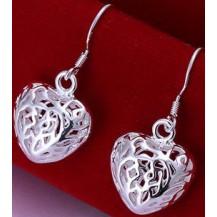 Серьги Tiffany (TF23). Покрытие серебром 925