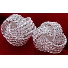 Серьги Tiffany (TF30). Покрытие серебром 925