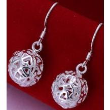 Серьги Tiffany (TF33). Покрытие серебром 925
