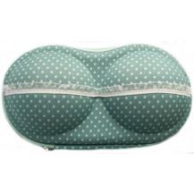 Органайзер - сумочка для бюстгалтеров (с сеточкой), мелкий горошек. Бесплатная доставка по Украине.