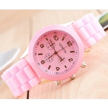 Часы наручные женские GENEVA Розовые