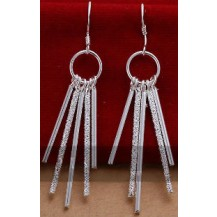 Серьги Tiffany (TF50). Покрытие серебром 925