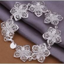 Браслет Tiffany (TF-H317). Покрытие серебром 925