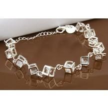 Браслет Tiffany (TF85). Покрытие серебром 925