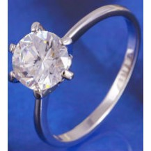 Кольцо позолота Gold Filled с исск. цитрином (GF463) Размер 17