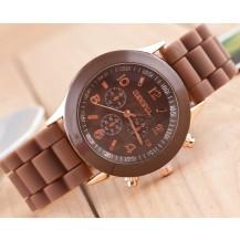 Часы наручные женские GENEVA Шоколад