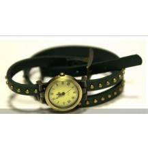 Часы длинный ремешок (зеленые)