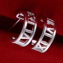 Серьги Миллениум Tiffany (TF111). Покрытие серебром 925