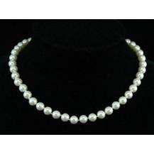 Бусы White Shell Pearl Necklace use Swarovski Crystal SN111