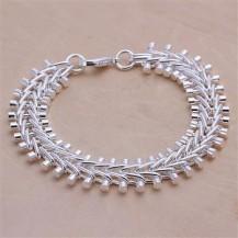 мужской браслет Tiffany (TF-H050). Покрытие серебром 925