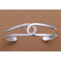 Браслет Tiffany (TF-b180). Покрытие серебром 925