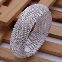 Браслет Tiffany (TF-b028). Покрытие серебром 925