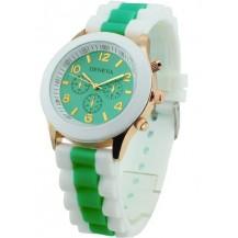 Часы наручные женские GENEVA sport Зелёные