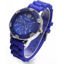 Часы наручные женские GENEVA Lady синие