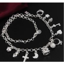Колье Tiffany. Покрытие серебром 925 (TF-N021)