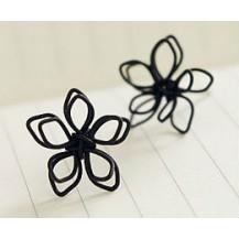 Серьги простые цветочки tb1030