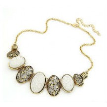 Ожерелье серебристое tb1061