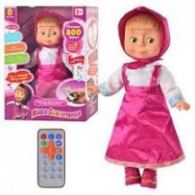Интерактивная кукла Маша с пультом (800 фраз, сказки, песни и др)