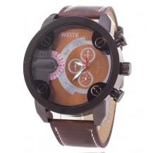 Часы мужские копия Weide коричневые (029)