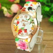 Часы наручные женские GENEVA Нежные Цветы