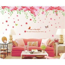Интерьерная наклейка на стену Цвет Сакуры (AY239AB)