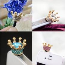 Корона на телефон Кристалл