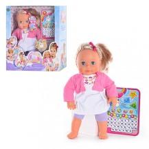 Интерактивная кукла Мила с планшетом