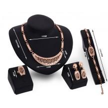 Набор бижутерии: колье, серьги, кольцо, браслет 61154096