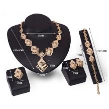 Набор бижутерии: колье, серьги, кольцо, браслет 61154137