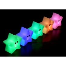 Мини светильник-хамелеон Звезда