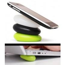 Smart Pebble - ``липкая`` подставка (для телефона, компьютера, кисти)
