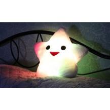 Светящаяся подушка Звезда