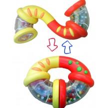 Развивающая погремушка-трансформер