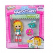 Кукла HAPPY PLACES S1 – СЬЮ СПАГЕТТИ (2 эксклюзивных петкинса, подставка) от Happy Places - под заказ