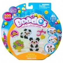 Игровой набор аквамозаики из бусинок – МИЛЫЕ ПАНДОЧКИ (500 бусинок, спрей, шаблоны, аксессуары) от Beados - под заказ