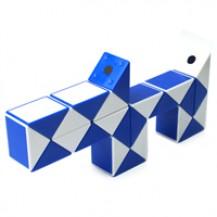 Головоломка RUBIK`S - Змейка (бело-голубая) от Rubik`s - под заказ