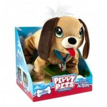 """""""Игрушка PEPPY PETS """"""""ВЕСЕЛАЯ ПРОГУЛКА"""""""" - БАССЕТ (размер 28 см, ошейник, поводок) от Peppy Pets - под заказ"""""""